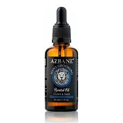 Huile à barbe Girofle et Sauge 30 ml AZBANE