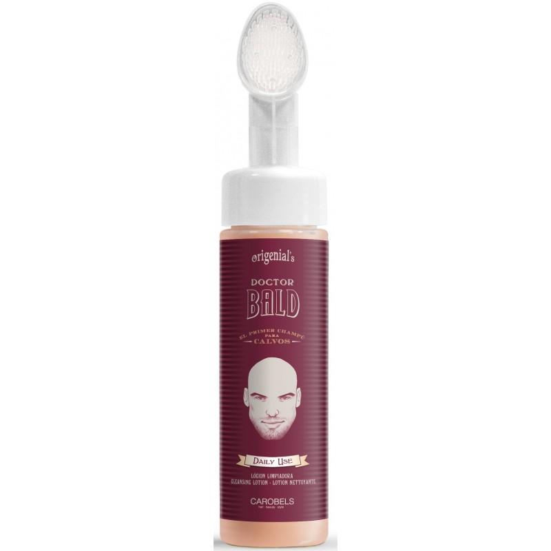Lotion nettoyante crâne rasé Doctor Bald Carobels