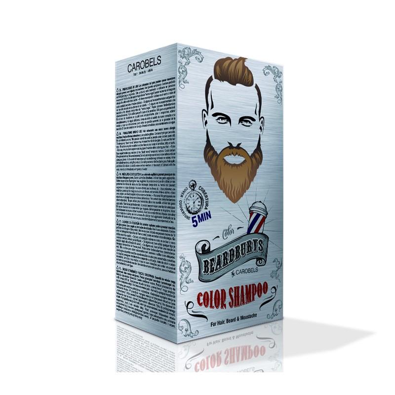 Coloration Brun clair pour barbe, cheveux, moustaches, Beardburys