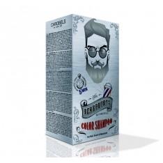 Coloration Gris pour barbe, cheveux, moustaches, Beardburys