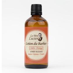 Lotion Après-rasage Le Père Lucien Cèdre Orange