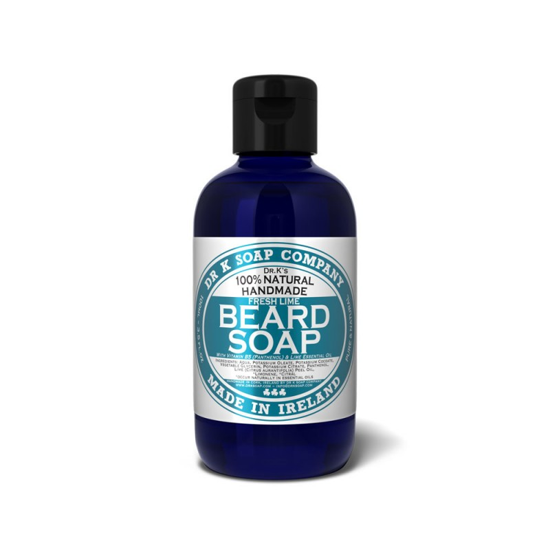 "Shampoing ""Fresh Lime"" pour la Barbe  Dr K Soap"