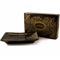 Porte savon noir et or Antiga Barbearia de Bairro
