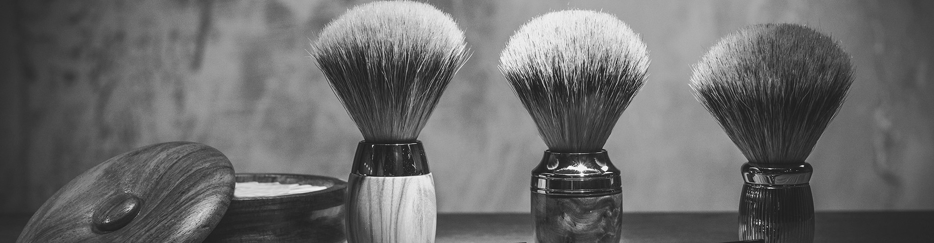Blaireau de rasage, pinceau à barbe