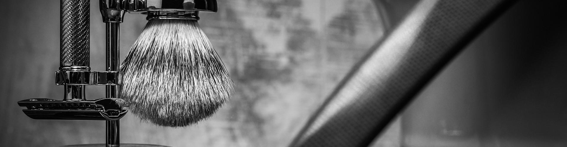 Support pour rasoir et blaireau de rasage classique