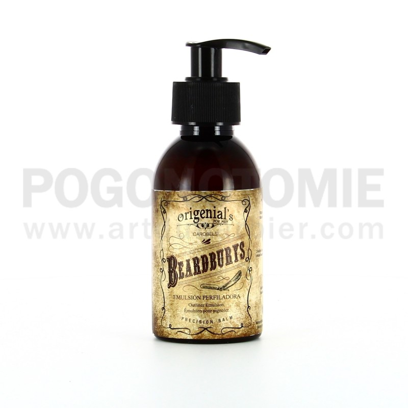 GEL TRANSPARENT DE RASAGE BEARDBURYS
