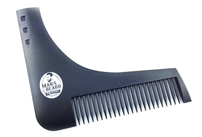 peigne contour de barbe man'sbeard