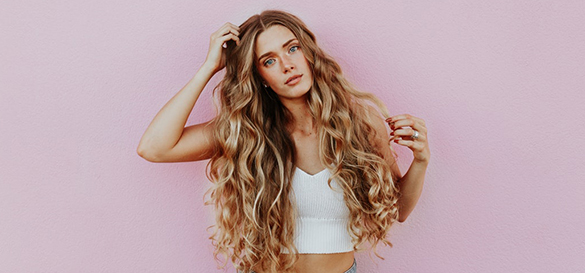 Cheveux longs soin beauté huile à barbe