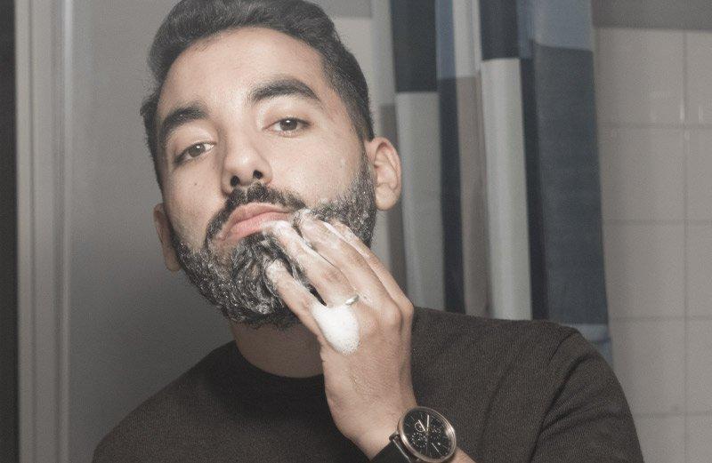 Shampoing barbe sur Barbedudaron