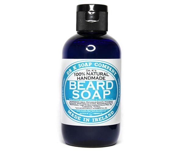 Shampoing pour la barbe de chez Dr K Soap